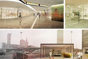 Jak będą wyglądać przejścia podziemne przy Dworcu Centralnym?