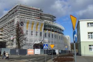 Najnowsze zdjęcia z budowy Galerii Świnoujście projektu FBA