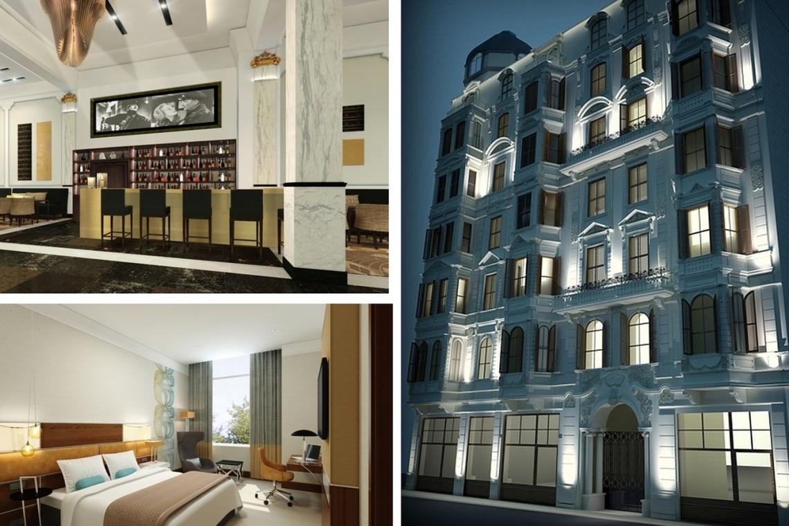 Legendarne hotele w barwach Curio by Hilton przejdą metamorfozę