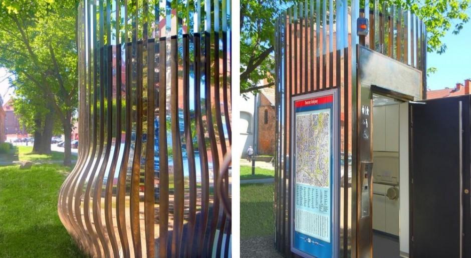 Design toalet publicznych może być elementem promocji miasta