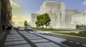 Zmieni się ul. Święty Marcin - więcej zieleni i mała architektura