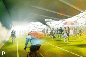 Ścieżka rowerowa priorytetem na Łazienkowskim