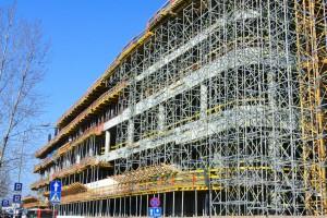 Zobacz najnowsze zdjęcia z budowy Supersamu projektu Konior Studio