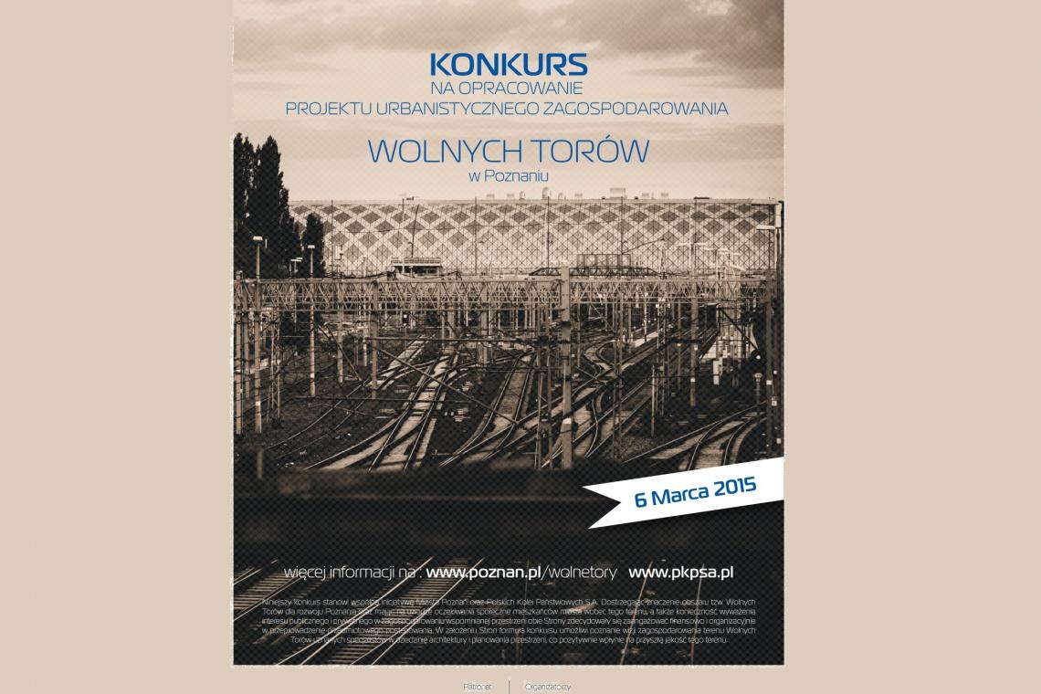 Ruszył konkurs urbanistyczny na Wolne Tory w Poznaniu