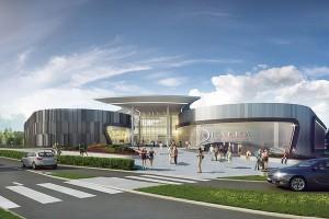 Powstanie centrum handlowe Skałka projektu Bose International