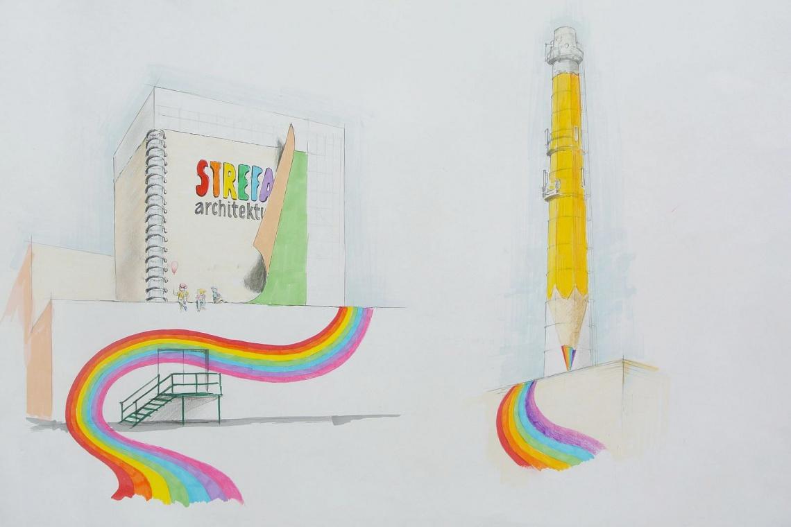 Komin przeistoczy się w gigantyczny ołówek