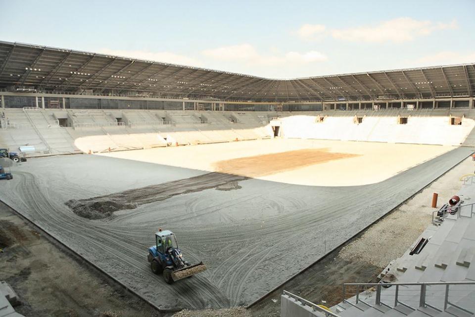 Tak rośnie stadion GKS Tychy