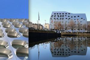 Kosmiczny budynek we Francji projektu AAD Anne Démians
