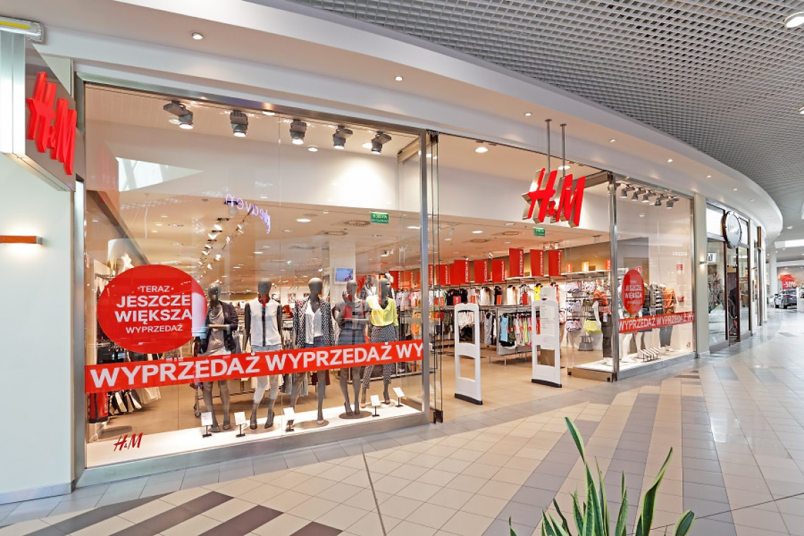 Salon H&M w Galerii Pomorskiej przejdzie metamorfozę