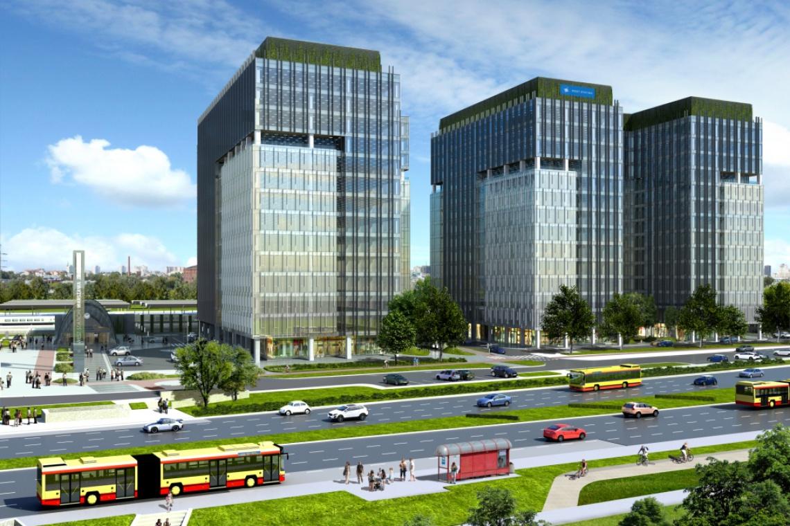 FS&P Arcus zaprojektowali West Station, a Warbud wybuduje