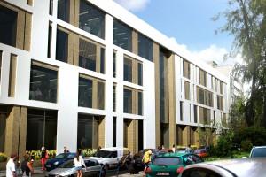 Co wyróżnia biurowiec Zefir? Po pierwsze architektura!