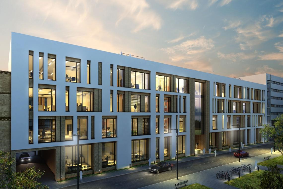 Xplan zaaranżuje przestrzeń biurowca Zefir w kompleksie Pomerania Office