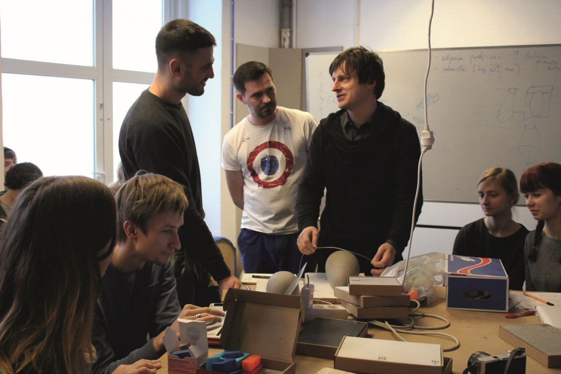 Inspirująca współpraca szkoły designu i Morgan & Möller