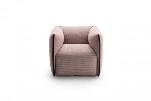 Kompaktowy fotel przypominający poduszkę