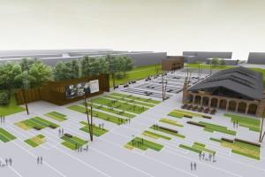 Oficjalnie rozpoczęto budowę Centrum Historii Zajezdnia