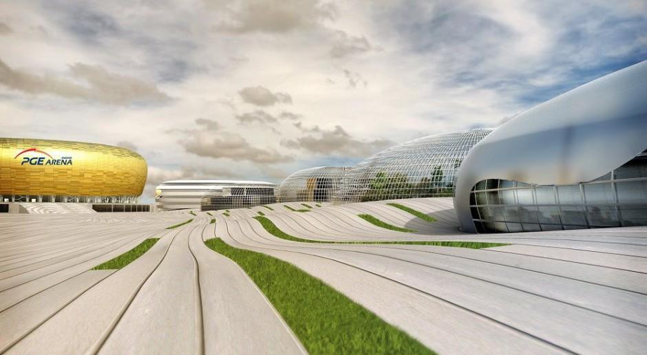 Nowe obiekty przy stadionie w Gdańsku od Rhode Kellermann Wawrowsky