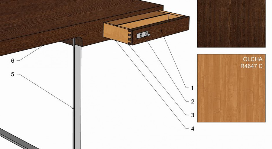 Klasyka designu - biurko projektu Hansa Wegenera