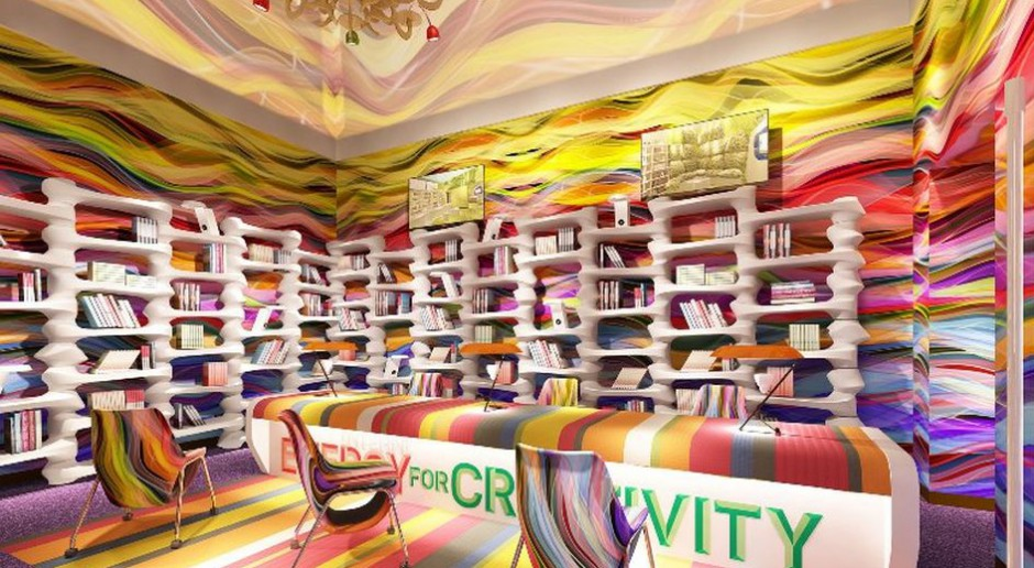 Fascynacja kolorem i geometrią - projekt Mac Stopy w Mediolanie