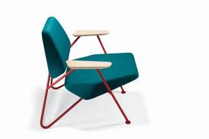 Ten fotel zachwyca modernistycznym designem