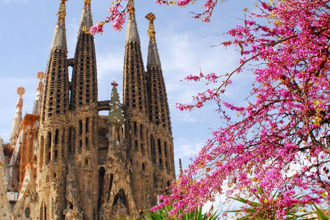 Końcowa faza budowy barcelońskiej Sagrada Familia