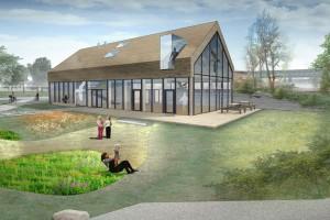 Pawilon edukacyjny nad Wisłą według LWS Architekci i ABIES Architektura Krajobrazu