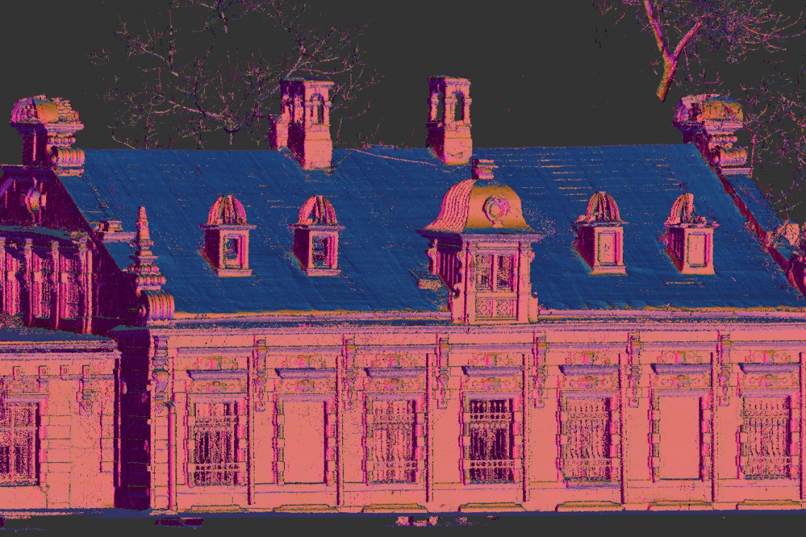 RWSL odbudują zabytek z 1879 r. za pomocą skaningu laserowego 3D