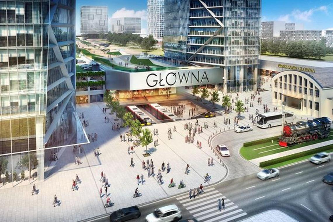 Biura, mieszkania i handel na terenie Warszawy Głównej. PKP już z inwestorem