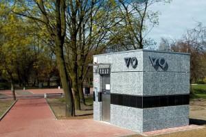 Budotechnika postawiła nowoczesną toaletę miejską w Ząbkach