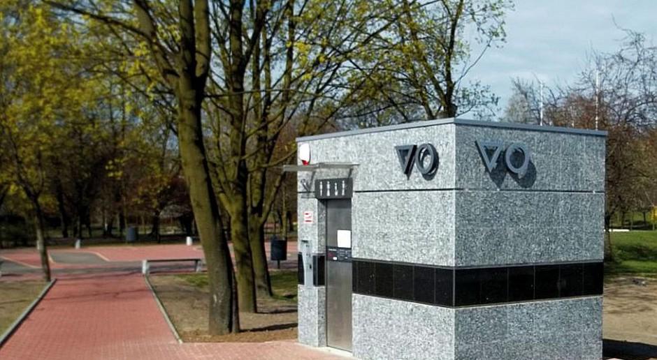 Tak wygląda automatyczna toaleta publiczna w Ząbkach