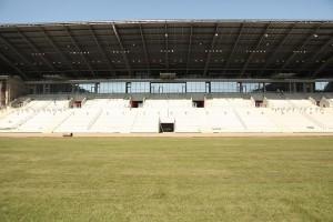Budowa stadionu GKS Tychy na finiszu