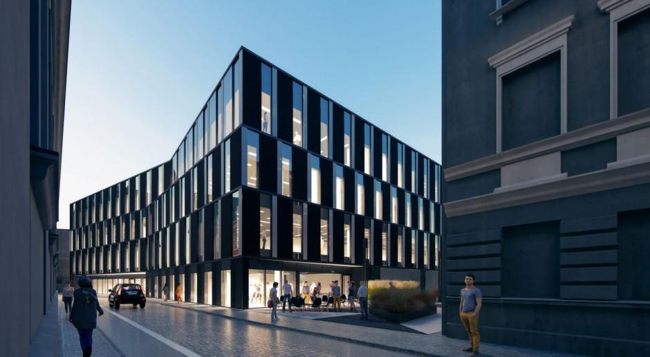 Biurowa perełka od Ultra Architects z wiechą