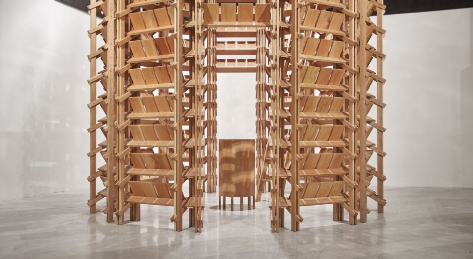 Niezwykła drewniana konstrukcja RotundaSerotina