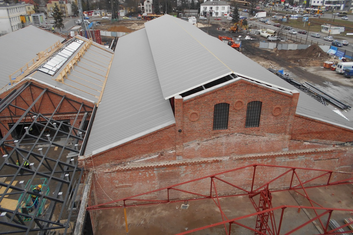 Ferio Wawer wchodzi w kolejny etap budowy