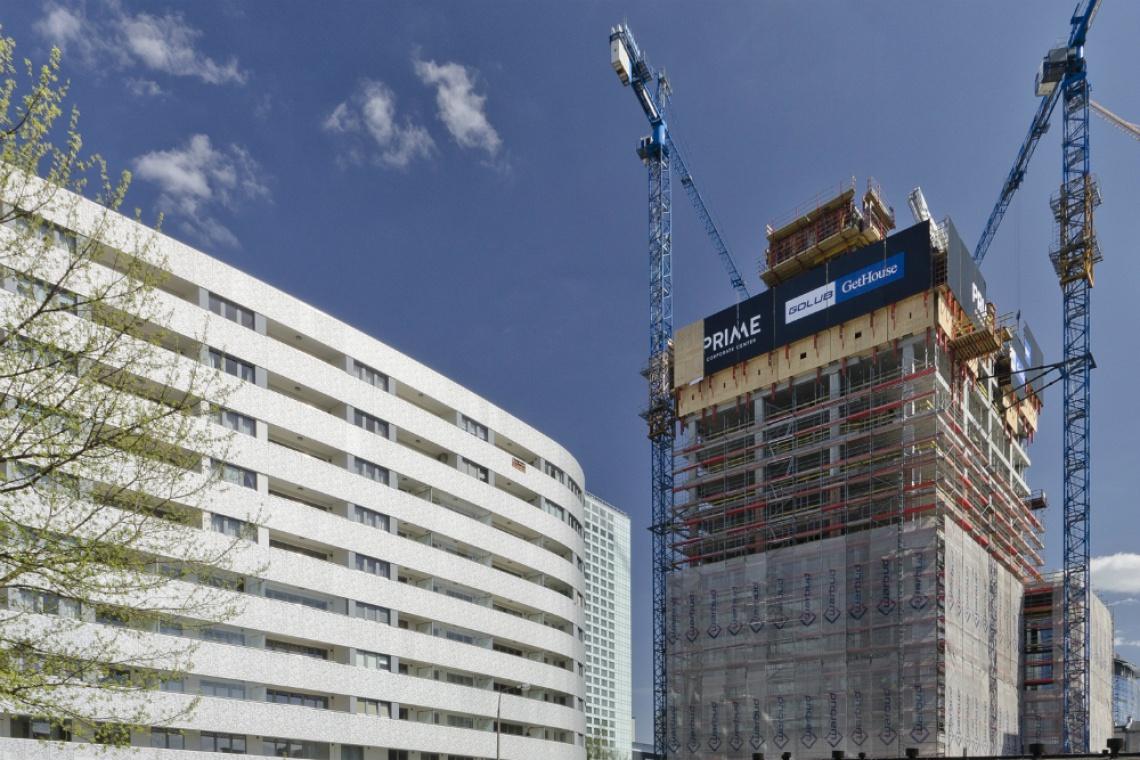 Warszawa: Prime Corporate Center ma już 17 pięter
