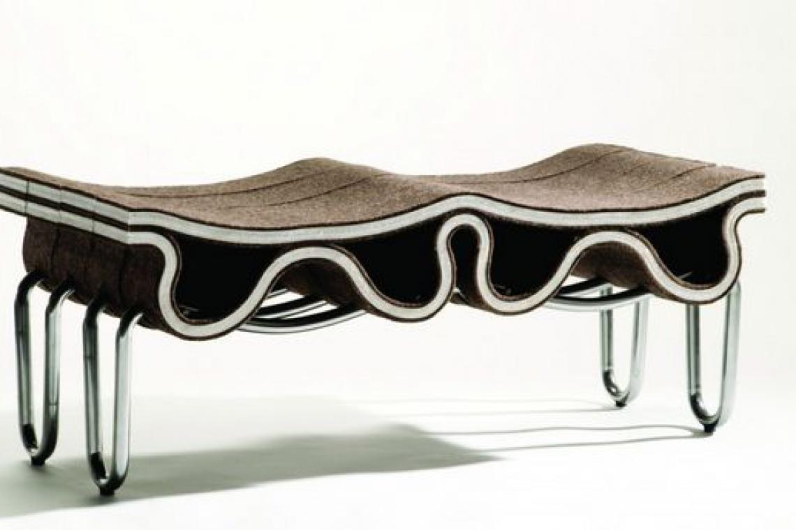 Niezwykłe siedziska inspirowane naturą projektu Florisa Wubbena