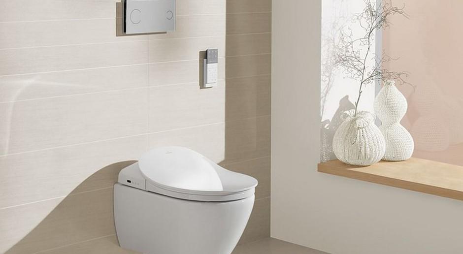 Technologia nawet w hotelowej łazience