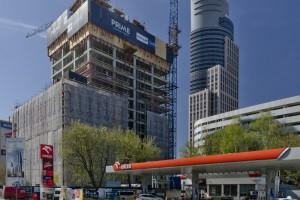 Budowa Prime Corporate Center w obiektywie