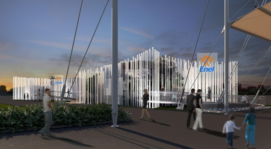 Świetlny pawilon na Expo 2015 to projekt architektów z Piuarch