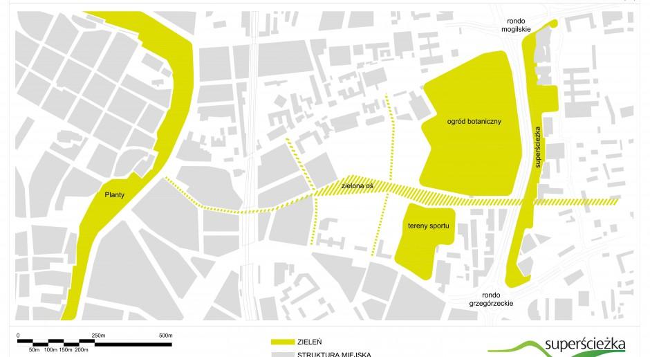 Będzie Superścieżka w Krakowie - to projekt placemakingowy