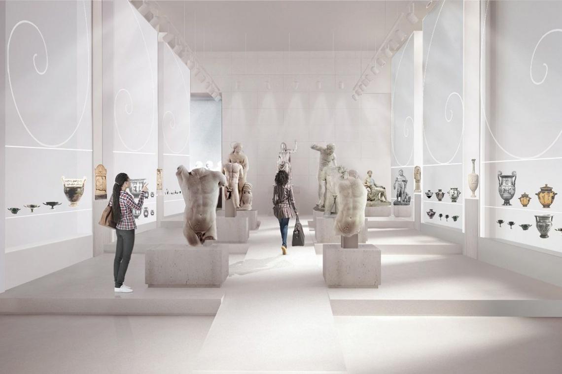 Nizio Design International zaprojektuje Galerię Sztuki Starożytnej