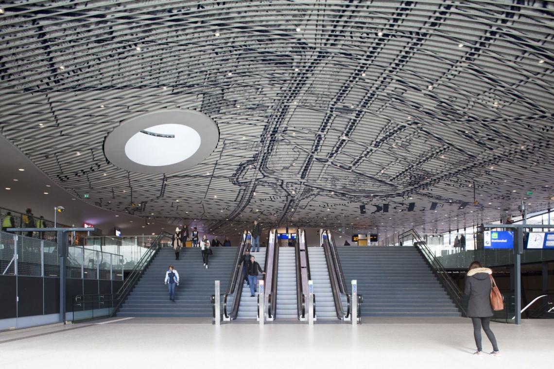Pracownia Mecanoo zaprojektowała dworzec zapierający dech