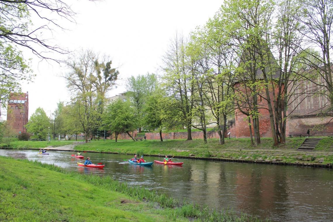 Kto zaprojektuje architekturę krajobrazu nad rzeką w Słupsku?