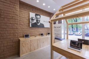 Sklep Apple Jabłka Adama w Poznaniu zaprojektowali mode:lina architekci