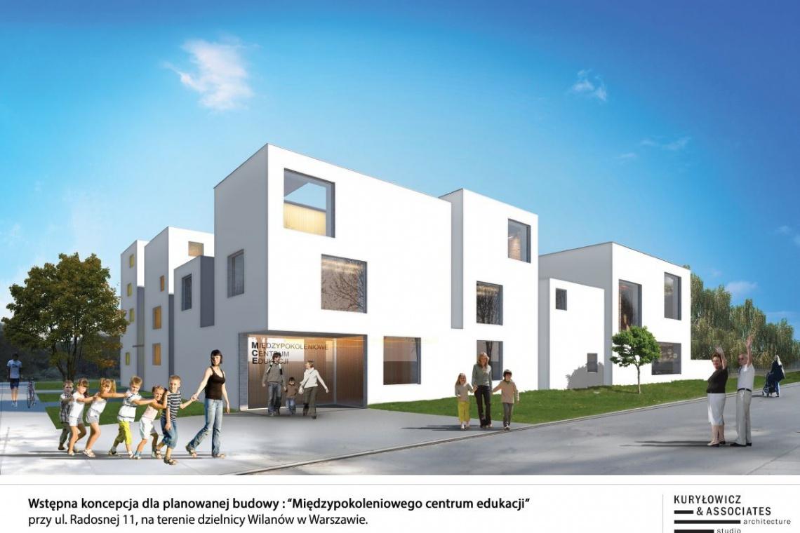 Skanska zaprojektuje i wybuduje Międzypokoleniowe Centrum Edukacji