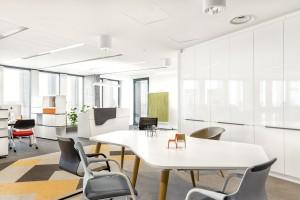 Biuro i zarazem showroom M.P. Polska w GreenWings Offices