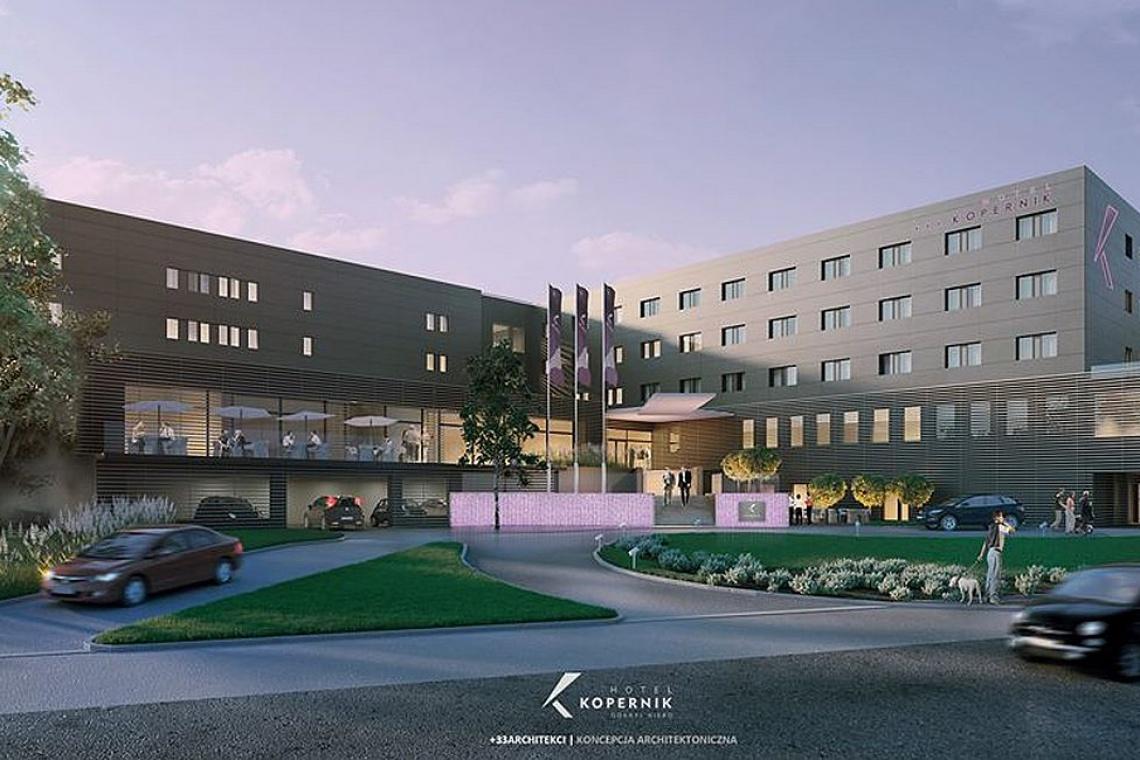 Hotel Kopernik w Olsztynie będzie przebudowany według T-33