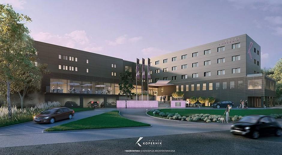 Pracownia T-33 przebuduje Hotel Kopernik w Olsztynie