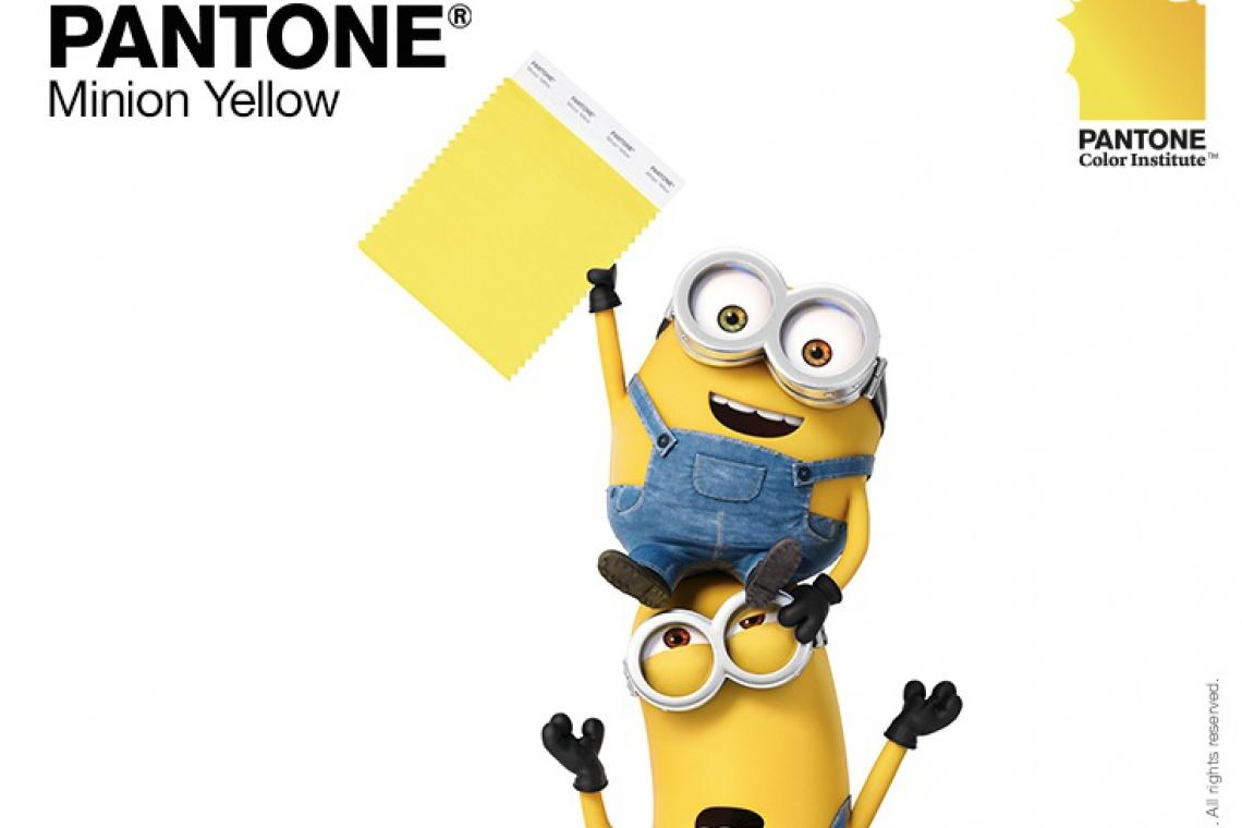 Pantone Color Institute ogłosił nowy kolor... jest nim minionkowy żółty