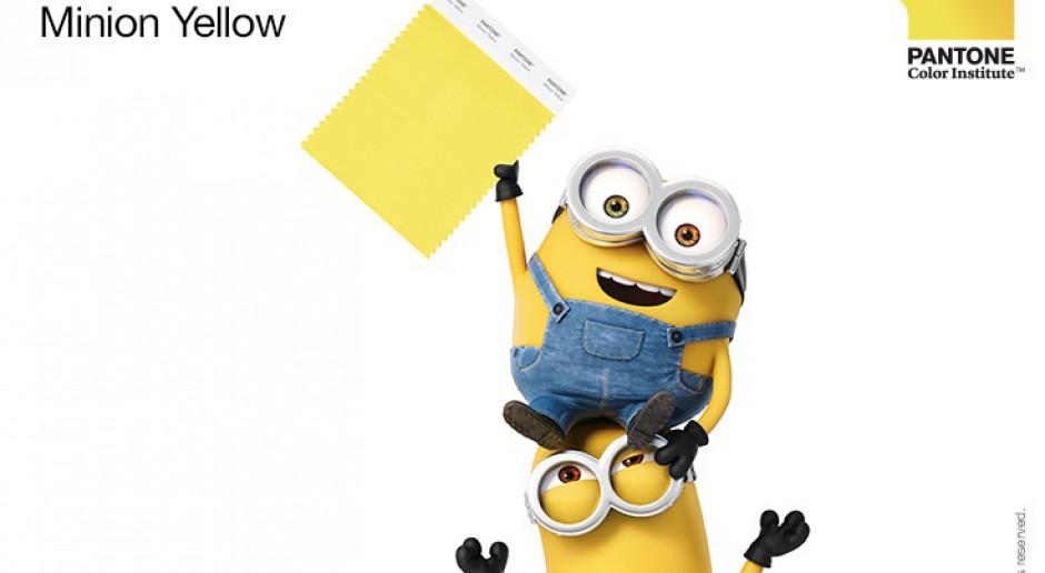 Minionkowy żółty kolorystycznym bestsellerem?