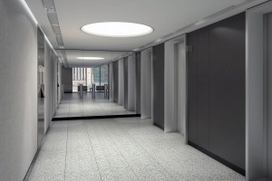 Biurowiec Astoria projektu Epstein z kamieniem węgielnym